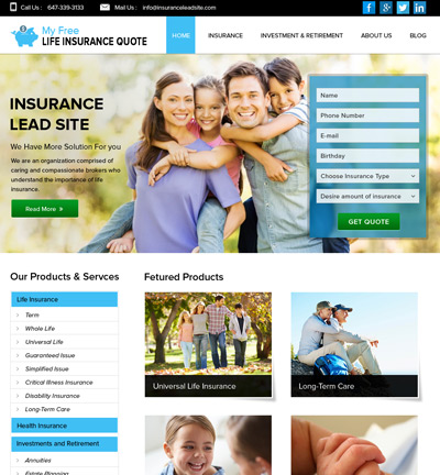 My Free Life Insurance Quote