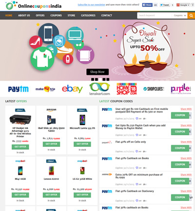 Online Coupons India